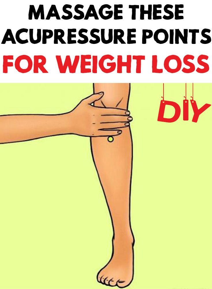 chinese acupressure points for weight loss
