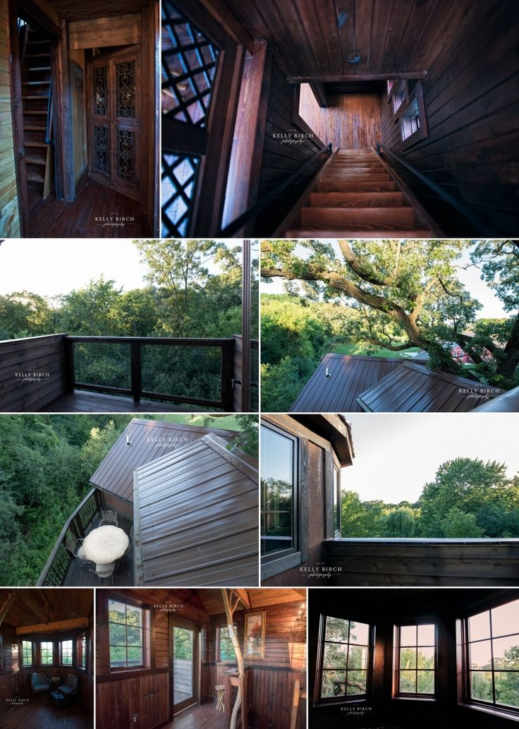Treehouse Suite Historic Hope Glen Farm Cottage Grove Minnesota Hidden Room  Behind The Bookcase In A