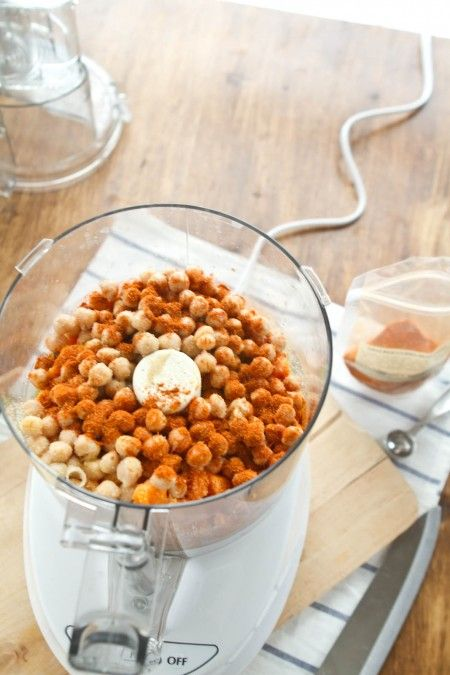 Sweet Potato Curried Hummus | Recipes to Cook | Pinterest