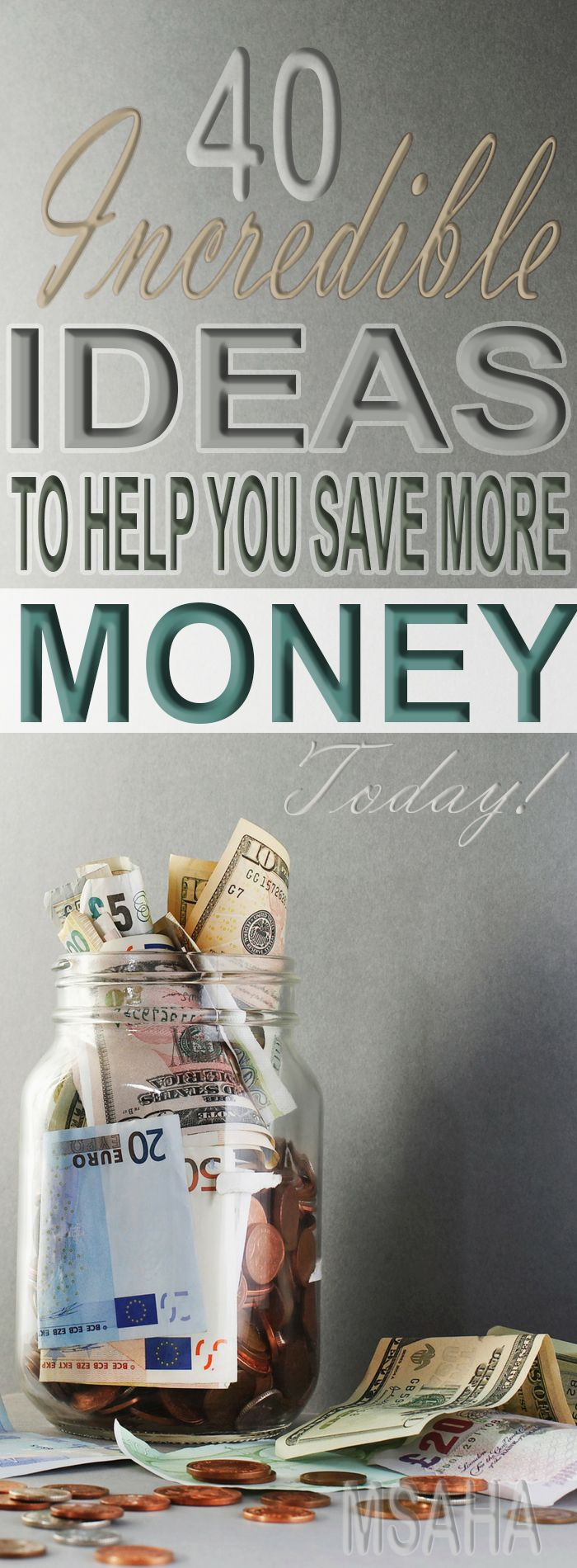 Looking for ways to save money? Learn from these 40 money saving ideas that have…