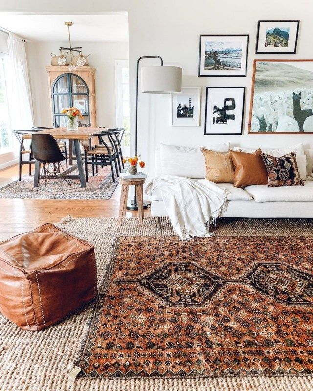 Rugs For Living Room In 2020 Layered Rugs Living Room Rugs In Living Room Persian Rug Living Room