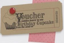 Cupcake voucher http://www.papercraftinspirationsmagazine.co.uk/resources/papercraft/PIN84.cake_voucher.pdf