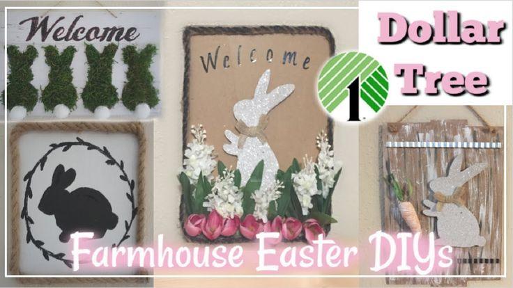 Dollar Tree DIY Easter Farmhouse Decor   Farmhouse…