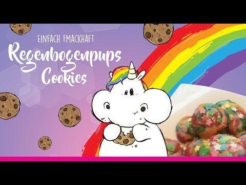 Fmackhafte Regenbogenpups Cookies ★ #Pummeleinhorn – YouTube