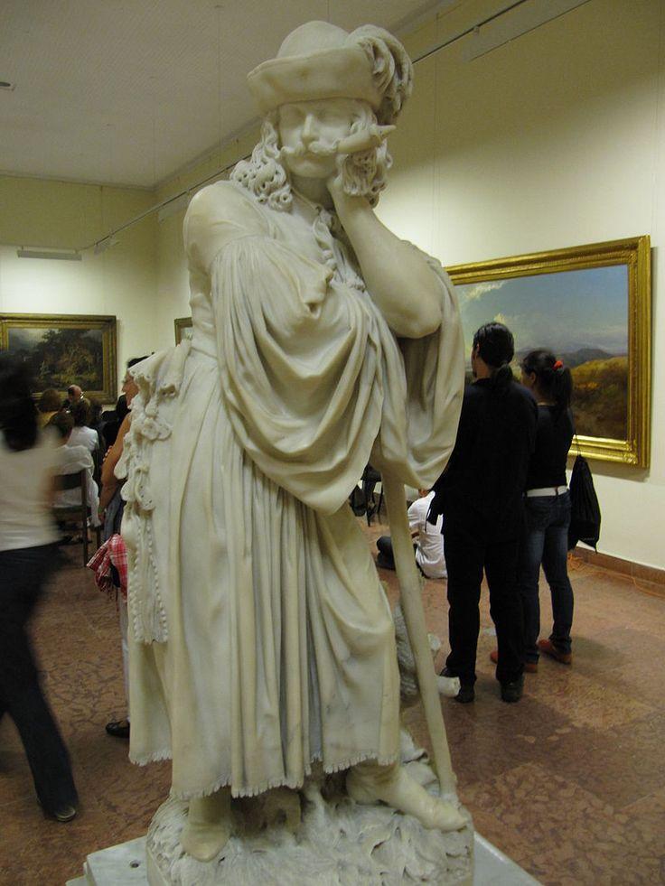 Izso-Miklos - Busulo-juhasz (1862) - Izsó Miklós (szobrász) – Wikipédia