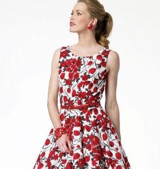 Dam klänning vintage