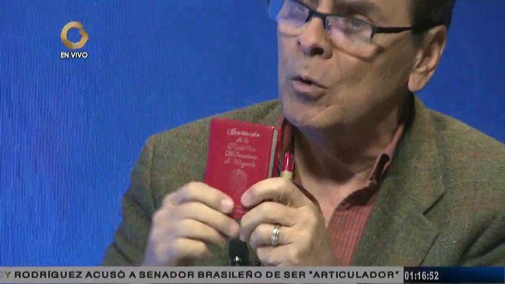 Héctor Navarro: La Constituyente que se está convocando no es revolucion...