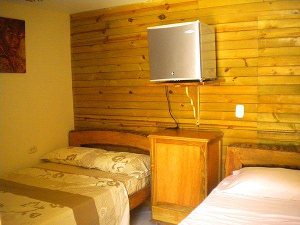 Habitación triple Hotel Palma Divina en Coveñas