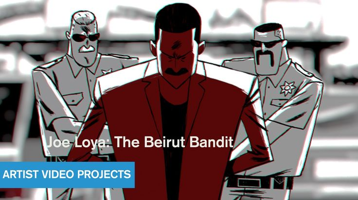 Joe Loya: The Beirut Bandit CRIME: The Animated Series