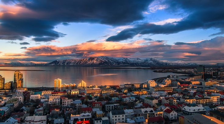 Ó Reykjavík! - In Reykjavik, Iceland, where I was born, you are in the middle of nature surrounded by mountains and ocean. But you are still in a capital in Europe. So I have never understood why I have to choose between nature or urban.  (Bjork)