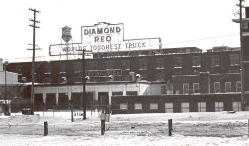 Vintage Wheel Works >> Old Diamond Reo Plant, Lansing MI | My Hometown/State | Pinterest | Plants and Diamonds