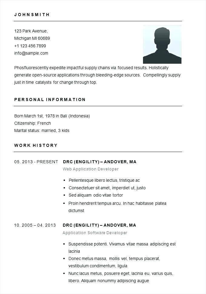 Pin On Cv Example