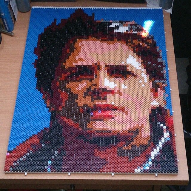 19 best images about cuadros hama beads on pinterest - Hama beads cuadros ...