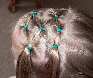 Little Girl's Hairstyles - Side Puffy Braid with Twist Braid 10-15 min:jardindejoy