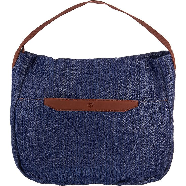 Diese MARC O'POLO Handtasche präsentiert sich in sommerlicher Bastoptik. Das geräumige Hauptfach kann mit zusätzlichen Innenfächern überzeugen.  - Verschluss: Reißverschluss - 3 Innenfächer, davon eins mit Reißverschluss - ein Außenfach mit Magnetverschluss - Maße: 45x35x10 cm (BxHxT)  Obermaterial: Sonstiges Material (Synthetik) Futter: Textil, sonstiges Material (Synthetik) ...