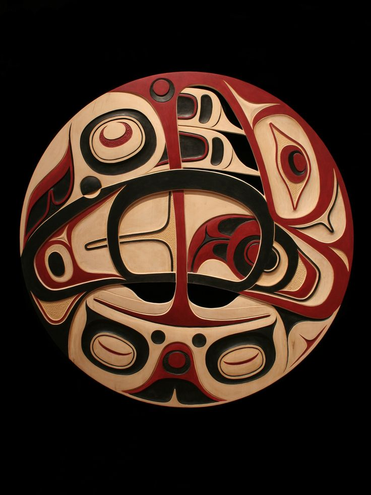 Work by Don Yeomans, a highly respected Northwest Coast artist of British Columbia