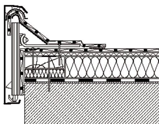Favorit Mehrteiliges Dachrandabschlussprofil   Арх узлы   Flachdach aufbau PX25