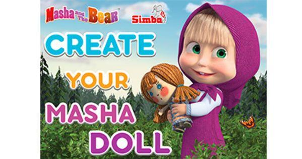 Choose the Masha Doll you want