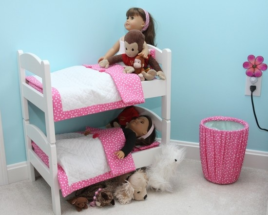 Ikea Doll Beds Attached With Dowels American House Pinterest Dolls And Bed