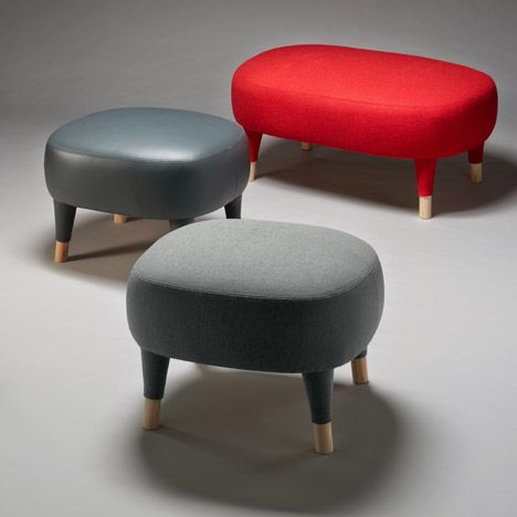 Färg & Blanche adds footstools to Gärsnäs furniture family.