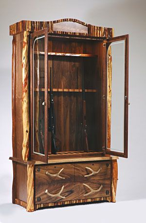 How To Build A Simple Gun Cabinet Woodworking Projects