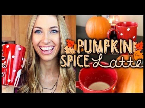 Pumpkin spiced latte with canned pumpkin! -pumpkin, creamer, milk, maple syrup, brown sugar, cinnamon, brewed coffee