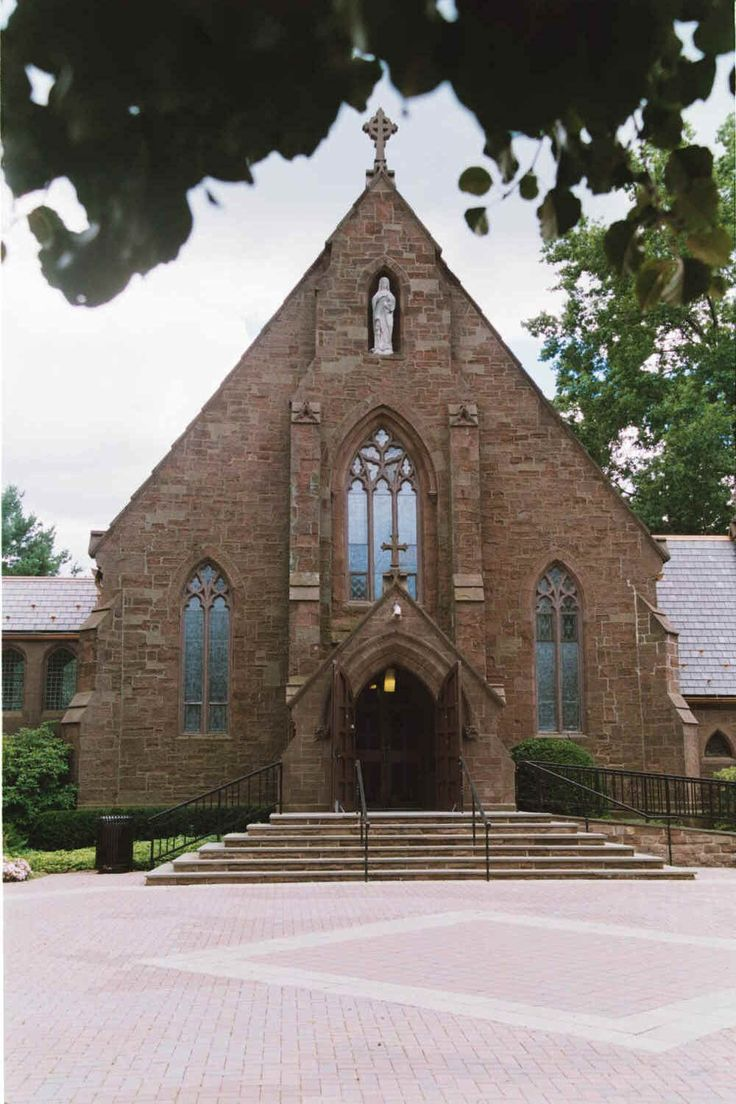 chapel of the immaculate conception at seton hall university gothic revival pinterest the. Black Bedroom Furniture Sets. Home Design Ideas