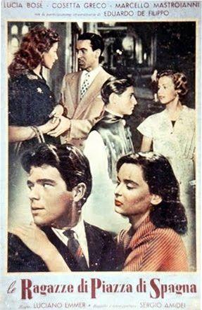 Le ragazze di piazza di Spagna (Italia, 1952) de Luciano Emmer