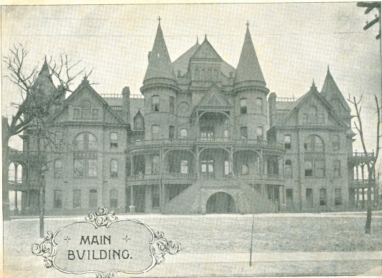 Meredith College - Raleigh's old castle