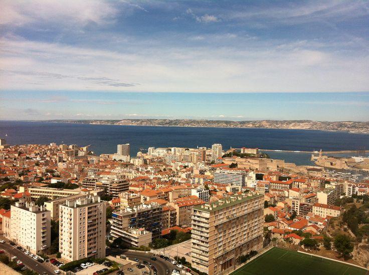Vista desde Basílica de Jesus de la gard, Marseilla