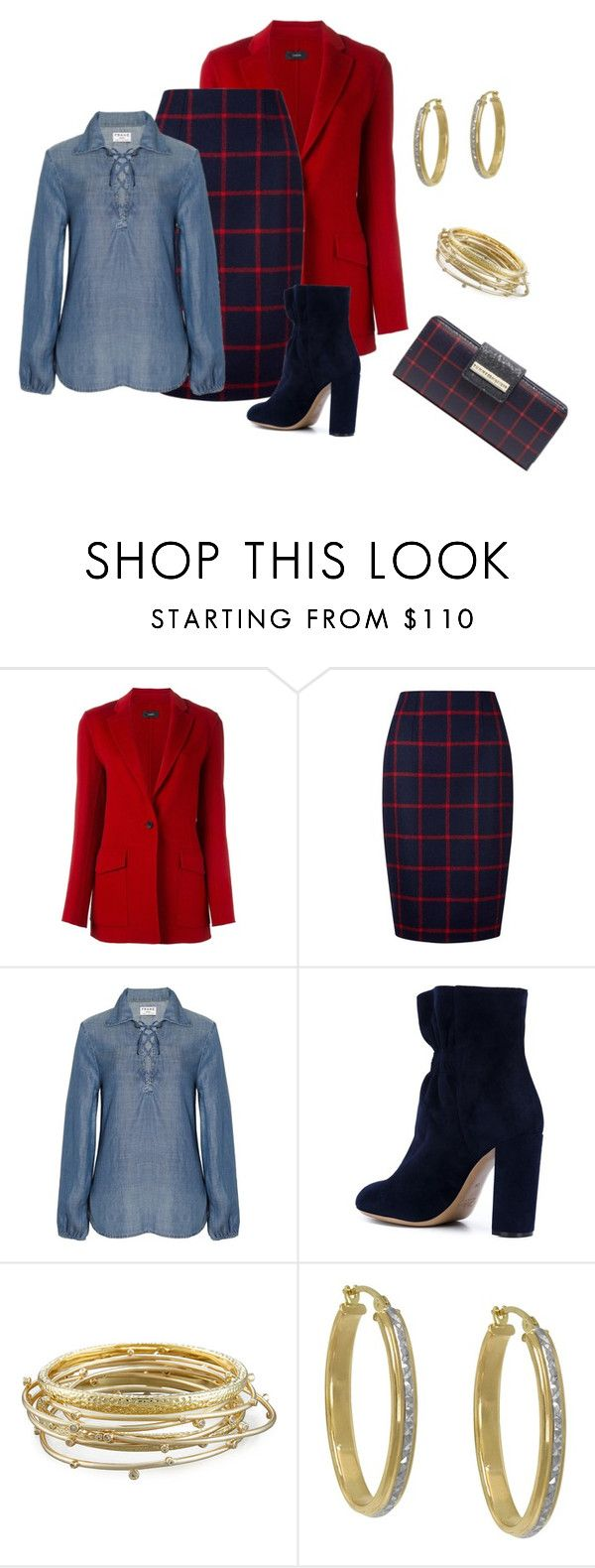 """""""DEAL ME IN"""" by polishedplus ❤ liked on Polyvore featuring Joseph, Hobbs, Frame, Chloé, Kendra Scott, Stanley Furniture and Tommy Hilfiger"""