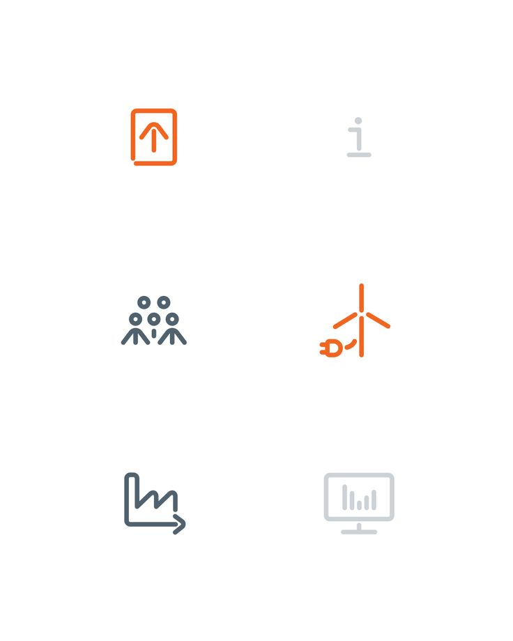 Icons for KK Wind Solutions designed by Heydays