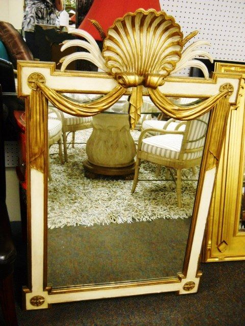 Awesome Mirror Located In Boca Raton, Florida Www.pastperfectconsignment.com