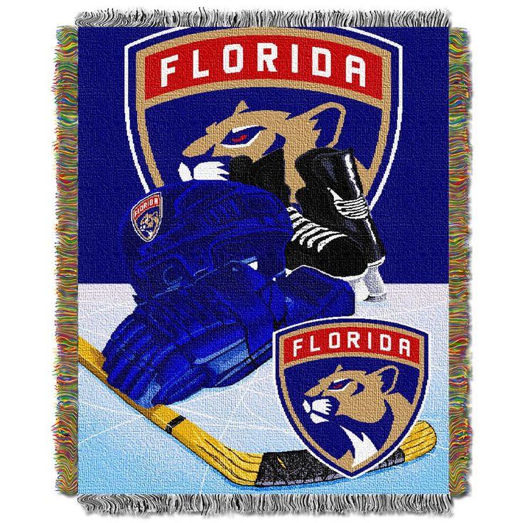NHL Florida Panthers Northwest Home Ice Advantage Blanket Throw