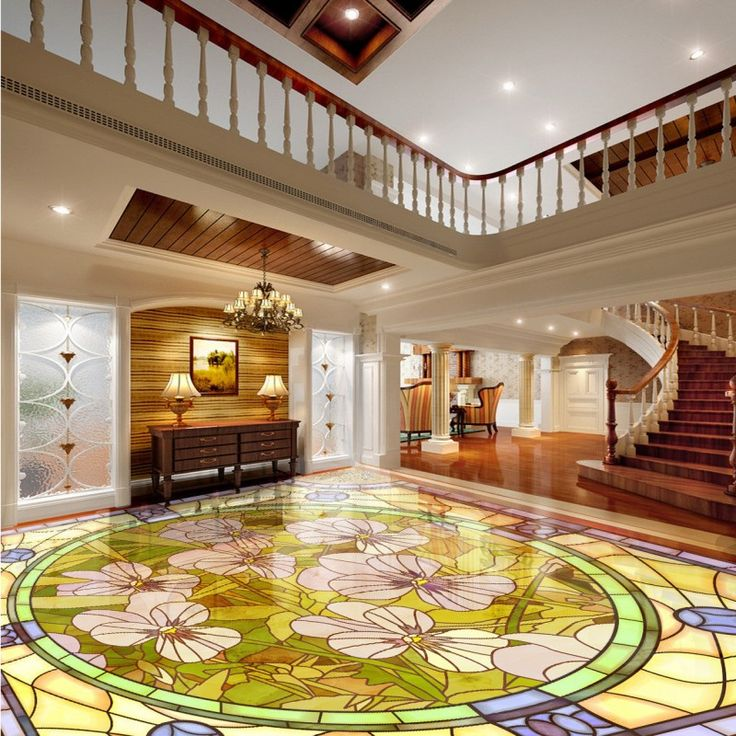 Free shipping custom Orchid marble parquet flooring thickened self-adhesive living room chinese style 3d floor murals wallpaper #Affiliate