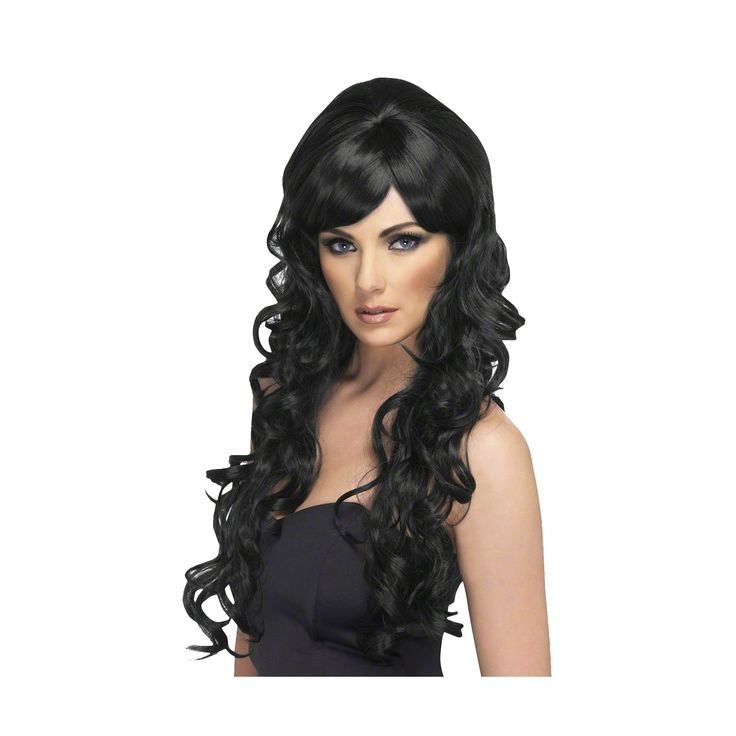 Women's Pop Starlet Wig Black