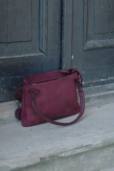 torebka torba pokrowiec skórzane etui na laptopa - ladybuqartstudio - Etui na laptopa