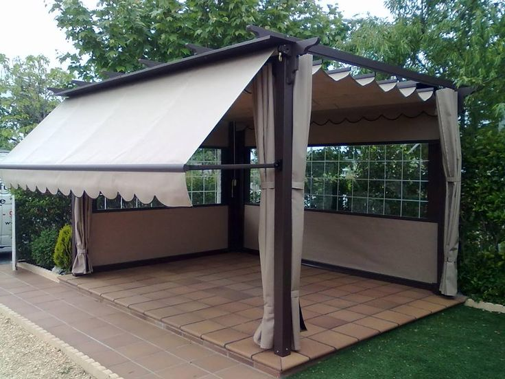 54 best images about andrea h pico on pinterest outdoor for Toldos para pergolas