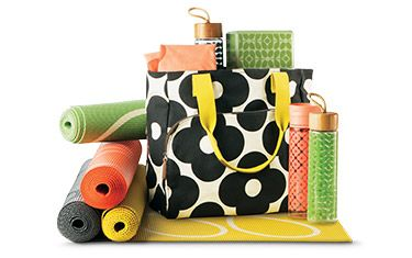 Orla Kiely Target yoga collection - I just bought this bag today and I can't stop looking at it, I'm in love! And I'm using it as a diaper bag for now and then hopefully as a yoga bag in the future. ;)