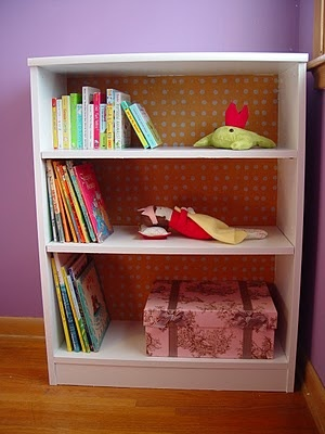 bookshelf face-lift