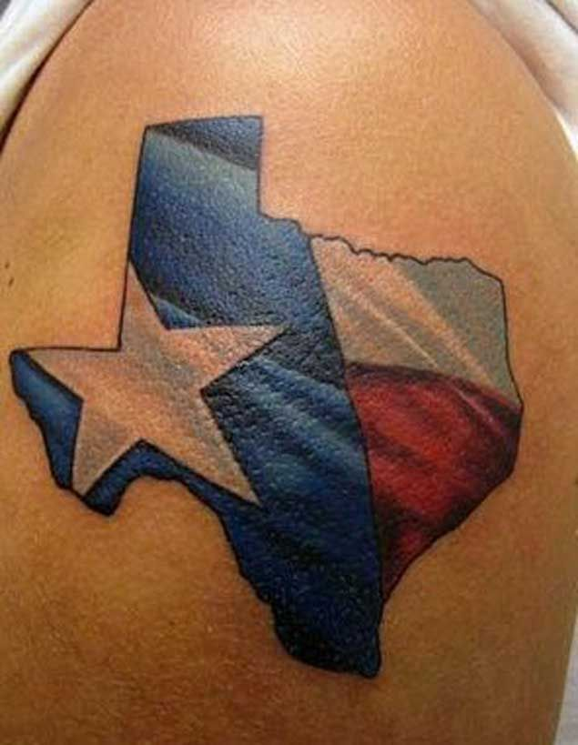 State of Texas Flag Design