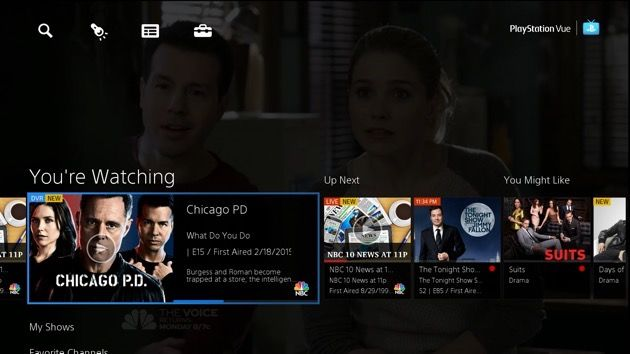 Sony attempts to 'redefine television' with launch of PlayStation Vue