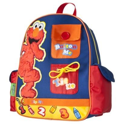 Sesame Street Elmo Backpack - Blue.Opens in a new window