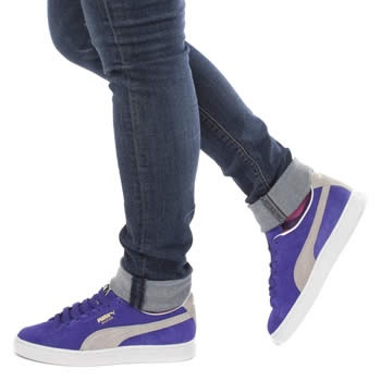 Be swayed towards suede by Puma suede.