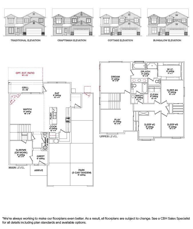 Unique attic Master Suite Floor Plans