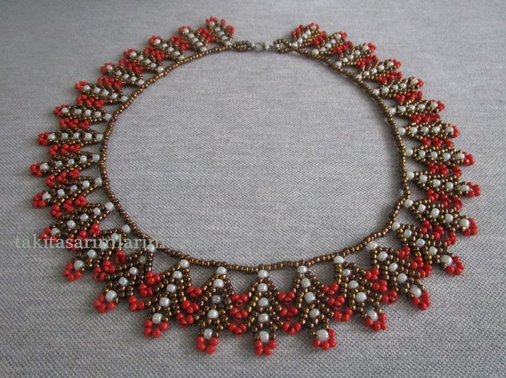 St. Petersberg Necklace ~ Seed Bead Tutorials