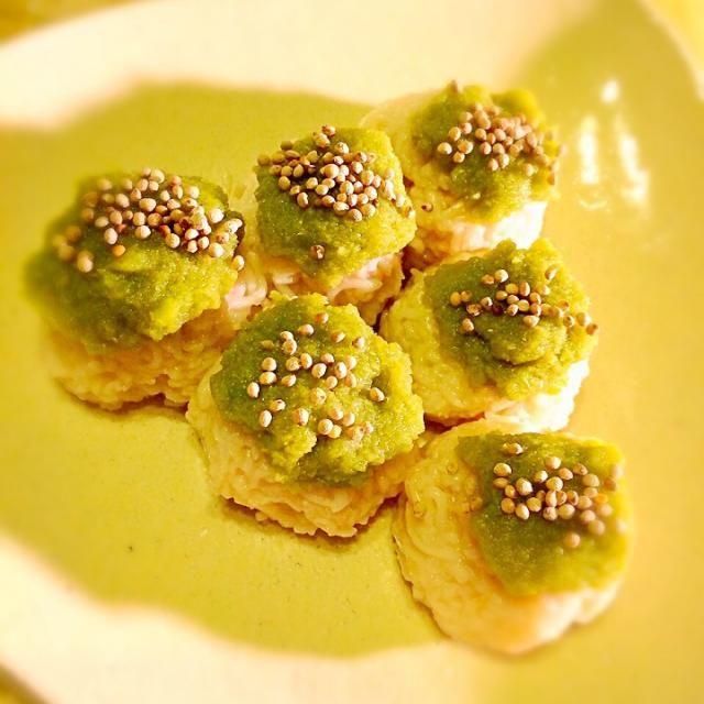 またまた作ってしまいました(≧∇≦)❤️ - 49件のもぐもぐ - MIEKO 沼澤三永子の料理 ソーメンで簡単!お月見 ずんだ餅(≧∇≦)w by miebo