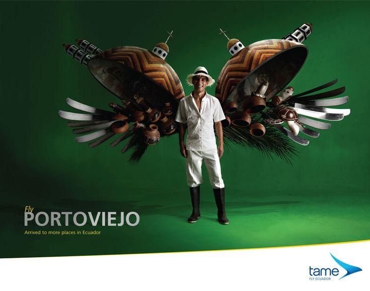 Tame Ecuador Airlines: Fly Portoviejo