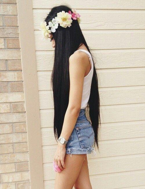 Beautiful Long Hair Hairstyles Pinterest Beautiful Long Hair And Hair Inspiration