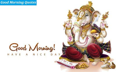 Ganesh Good Morning Images for Free Download